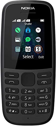 Nokia 105-2019 Dual SIM Black (TA-1174)