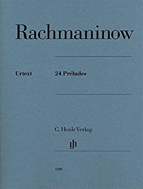 24 Preludes Piano Solo (English, French and German Edition)