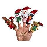 5Pcs Christmas Theme Character F...