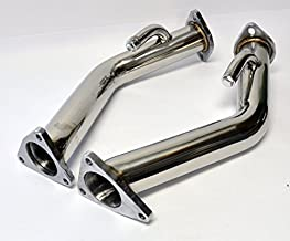 High Flow Straight Exhaust Pipes for Nissan 370z Infiniti G37
