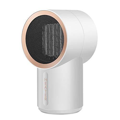 Mini calentador de calefacción pequeño calefactor de la oficina Calentador de cerámica Calentador de calefacción rápido en invierno Calentadores de escritorio portátiles PTC Calefacción de cerámica
