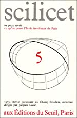 Scilicet, numéro 5 d'Ecole freudienne de Paris