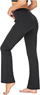 Agenlulu Bootcut Yoga Pants with Pockets - High Waisted Moisture Wicking Flare Pants Workout Casual Stretch Pants