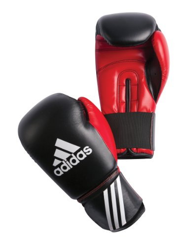 adidas Boxhandschuh Response, black-red, 14 oz, ADIBT01-14