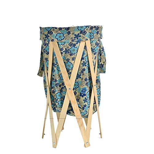 Planken vuile kleren wasmand Folding wasmand stof grote Toy Storage Basket Mand (Kleur: B), Kleur: Een Bloempot Rack (Kleur: A) XIUYU (Color : B)