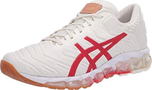 ASICS Gel-Quantum 360 5 - Zapatillas de running para mujer, Blanco (Crema/Rojo clásico.), 36 EU