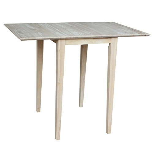 Our #2 Pick is the International Concepts Small Drop Leaf Table