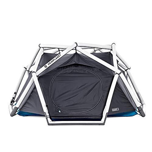 HEIMPLANET Original | Tente The Cave 2-3 Personnes | Tente Pop Up Gonflable - montée en Quelques Secondes | Camping Outdoor imperméable - Colonne d'Eau 5000 mm | Aucun mât de Tente nécessaire