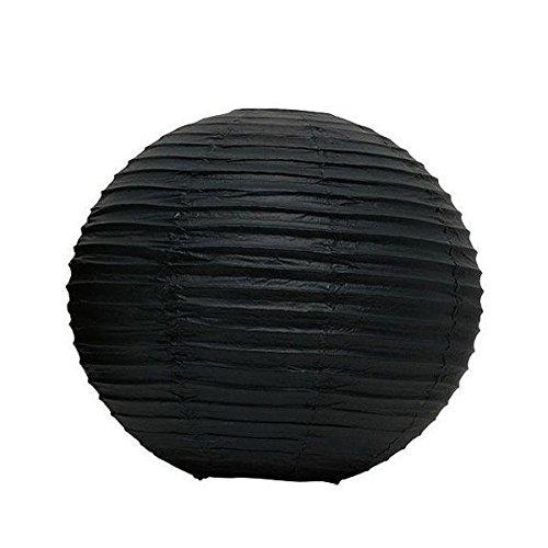 Skylantern Original 1816 Lanterne Boule Papier Noir 40 cm