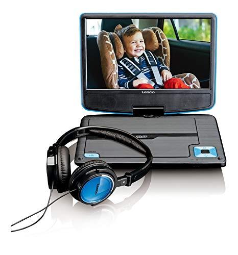 Lenco DVP-910 DVD-speler met USB, 9 inch Dvd Player DVP-910BU