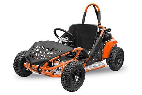 Nitro Motors Buggy GoKid Offroad 80cc Automatik Kinderbuggy Crossbuggy (Orange)