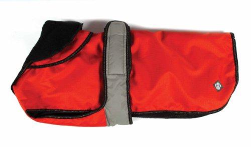 Danish Design 2 In 1 Light Reflective Coat - Manteau 2 en 1 pour chien - Orange - 50cm (20\