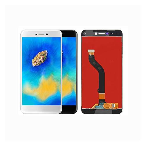 XCJ Pantalla De Teléfono Móvil Fit For Huawei P9 Lite 2017 Pra-LX1 Nova Lite GR3 2017 Pantalla Táctil con Marco (Color : Black No Frame)