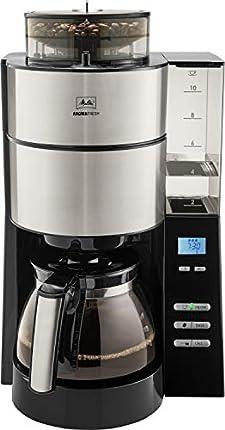 Melitta 1021-21 Cafetera de Goteo, 1000 W, 1.25 litros, Acero Inoxidable