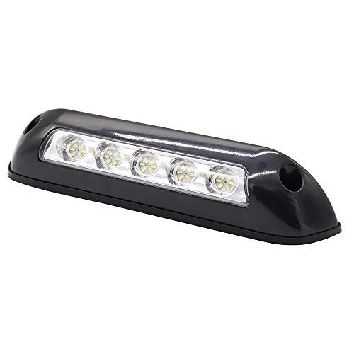 Goolsky 12V RV LED Awning Porch Light Waterproof Interior Wall Lamps Light Bar for Motorhome Caravan RV Van Camper (Black)