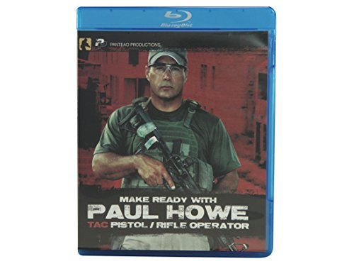 Panteao Productions: Make Ready with Paul Howe Tac Pistol/Rifle Operator Blu-ray - PMRB01 - CSAT - SOF - Special Forces - Pistol Dills - Rifle Training - Self defense - CRAS - Military and Tactical Training - Blu-ray