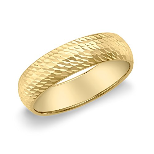 Carissima Gold Anillo de oro amarillo de 9K para mujer, talla 11