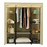 Homebi Portable Closet Wardrobe Clothes Closet Storage System Non-Woven Fabric Clothes Rack Cloth