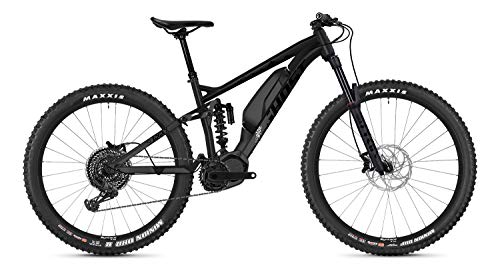 Ghost Hybride Slamr X S4.7+ AL U Shimano Steps Elektro Bike 2020 (L/46cm, Night Black/Jet Black/Iridium Silver)