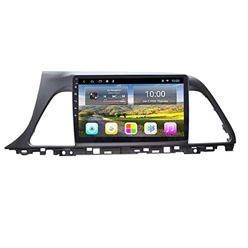 Android 10.0 Navegación GPS Radio Estéreo Reproductor Multimedia Con Pantalla Táctil De, Para Hyundai SONATA 9 2012-2017 Soporte Bluetooth/Control Del Volante(incluye Cámara(Color:WIFI 4G+64G)