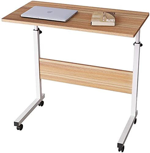 Mesa Plegable Auxiliar Mesa portátil con sujeción para Tablet Mesa Ajustable y...
