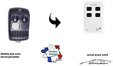 Carty R afstandsbediening compatibel met AlLMATIC Pass Bro multifrequentie van 280 tot 868 MHz voor vaste code en rolling ...