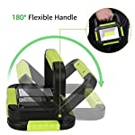 LE 10W Portable Work Light, USB Rechargeable LED Camping Light, 1000 Lumens, 3 Modes, 4400mAh Power Bank, Water…