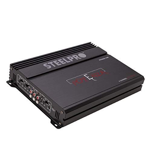 Steelpro Amplificador 4 Canales Potenza 1200