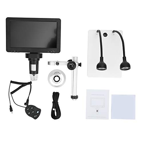 7 inch LCD Digital USB Microscope with 32G TF Card,Koolertron 12MP 1-1200X Magnification Handheld Camera Video Recorder