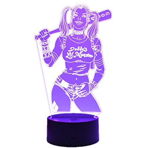 41zj3842e6L Harley Quinn Night Lights