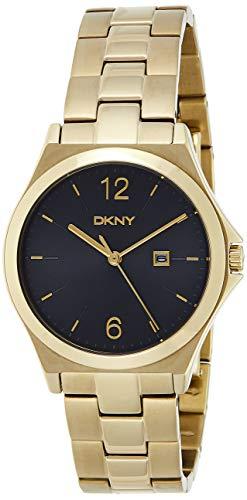DKNY Reloj Digital para Mujer de Cuarzo con Correa en Acero Inoxidable NY2366