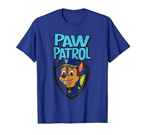 Paw Patrol Chase in Badge Nickelodeon T-Shirt