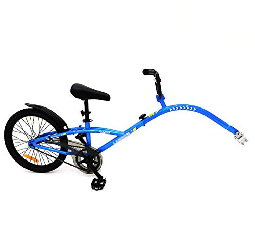 Yzi Co-Pilot Bike Trailer, Tandem Bicycle Trailer Single Speed/Multi Speed/Variable Speed Multiple Styles,2