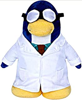 Disney Club Penguin 6.5 Inch Series 5 Plush Figure Gary the Gadget Guy (Includes Coin with Code!)