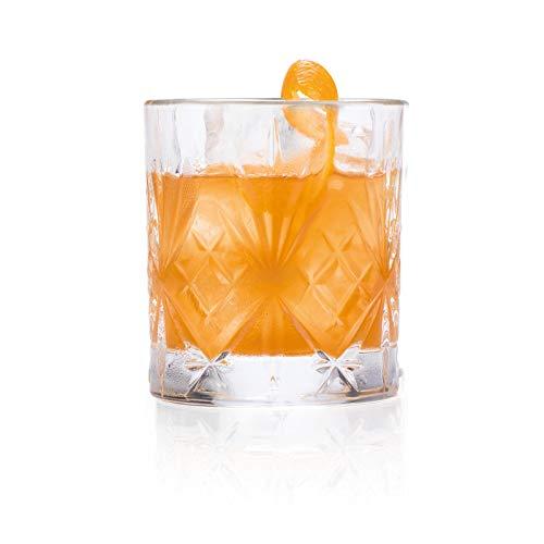 Vasos Whisky Cristal Tallado vasos whisky cristal  Marca RCR