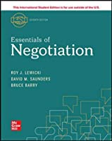 ISE Essentials of Negotiation