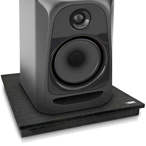 Pyle akoestische geluidsisolatie demping terugslag stabilisator Speaker Riser