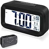 Arespark Despertador Digital, LED Reloj Alarma Electrónico con Luz de...