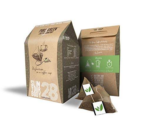 Pure Green Skinny Coffee 28 Day Detox Program. Help with Weight Loss and...