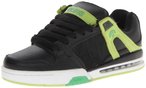 Osiris Pixel 21018015, Herren Sneaker, Schwarz (Black/Lime/Silver), EU 45 (US 11)