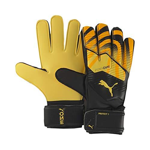 PUMA One Protect 3 RC Guantes De Portero, Unisex-Adult, Ultra Yellow Black White, 7.5