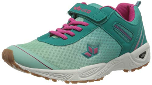 Lico BARNEY VS Mädchen Sneaker, Türkis/ Pink, 33 EU