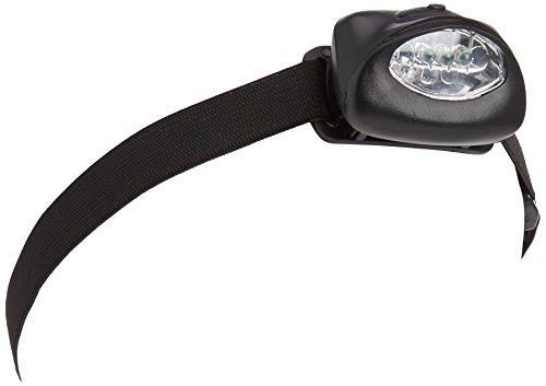 Zebco Lampe Frontale LED Noir Taille S