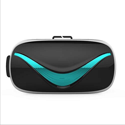 LYXLQ Auriculares VR Glasses, Auriculares para teléfono móvil con Realidad Virtual, Vista panorámica Protección contra la radiación de luz Azul, Compatible con la Plataforma Android/iOS