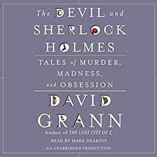 The Devil and Sherlock Holmes audiobook cover art