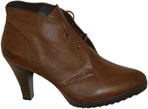 Arizona Damen Stiefeletten / Ankle Boots // braun used (39)