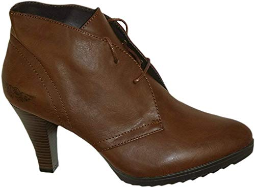 Arizona Damen Stiefeletten / Ankle Boots // braun used (40)