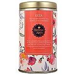 Karma kettle Keya White Tea with Rose Petals, Strawberry Fruit Freezed Dried Bits