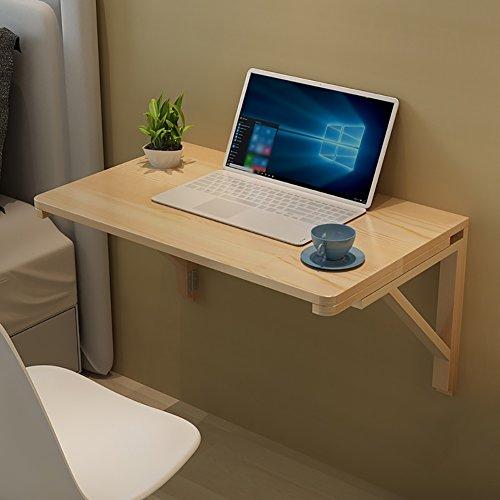 Wandbehang Computertisch Esstisch Wand-Klapptisch Massivholz Doppel-Stützwand Tisch Beistelltisch (größe : 60 * 40cm)