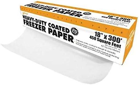 Weston Heavy Duty Freezer Paper in Dispenser Box, 18-Inch-by-300-Feet (83-4001-W) with Cutter